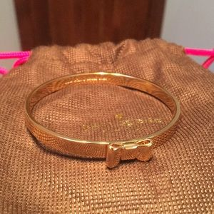 KATE SPADE - gold bracelet with Bow